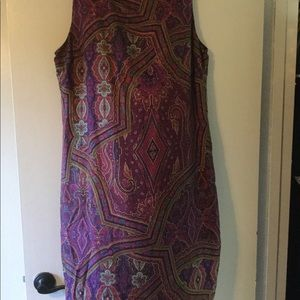 Ralph Lauren multi colored dress